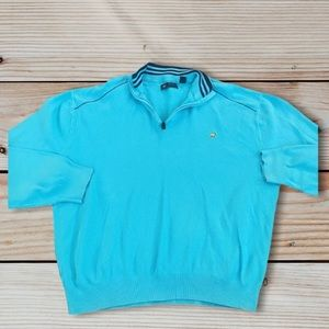 Jack Nicklaus gold bear zip shirt XXL